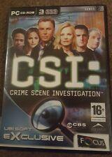 CSI: Crime Scene Investigation (PC: Windows, 2003) - European Version