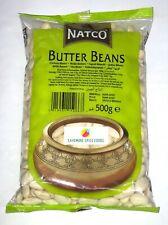 BUTTER BEANS - LIMA BEANS - NATCO - 500g