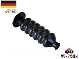 2 Stück Universal Faltenbalg Gummi Manschette Bellow  L 82mm Ø 9mm-12mm