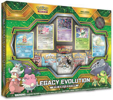 Pokemon Legacy Evolution Pin Collection Box Gift Set SEALED IN HAND!!