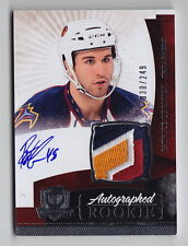2010-11 The Cup Patrice Cormier RPA 4 Color Logo Patch Auto Rc (030/249)