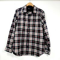 Gap men's heavy/thick flannel button up long sleeve shirt, size XL
