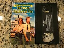 BACK TO HANNIBAL: THE RETURN OF TOM SAWYER & HUCKLEBERRY FINN VHS WALT DISNEY!