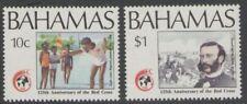 BAHAMAS SG853/4 1989 RED CROSS MNH