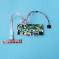 HDMI+DVI+VGA LCD Display Controller Board Kit for WLED LVDS 40pin LTN156AT05-U09