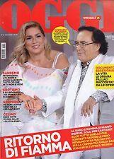 Oggi 2015 8.Romina Power-Al Bano,Vittoria Puccini-Fallaci,Maria Grazia Cucinotta