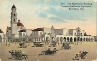 Antique Postcard The Machinery Building Panama-California Exposition SAN DIEGO