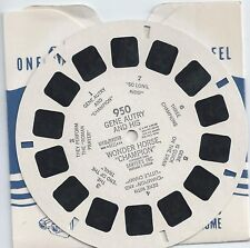 950 Gene Autry and His Wonder Horse Champion 1950 View-master Reel