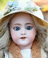 Antike Französische Puppe Beautiful size 9  SH for French Trade/Jumeau DEP 58 cm