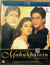 MOHABBATEIN BLU-RAY - SHAHRUKH KHAN, AISHWARYA RAI - BOLLYWOOD MOVIE BLURAY