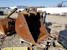 "used 42"" wide Geith excavator bucket"