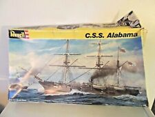 Vintage 1988 Css Alabama Model Kit By Revell In Box #5621 1:96 Scale