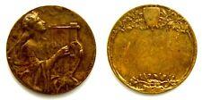 Medaglia Musica – Arpa (Inc. M. Zingoni), Bronzo cm 3 Peso g 10,9