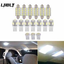 For 2004-2012 Ford F150 White LED Dome License Lights Interior Package Kit 16PCS
