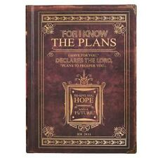 Journal Classic Brown I Know the Plans by Christian Art Gifts (Corporate Author)