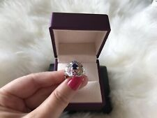 New Rainbow Sapphire Ring Size M