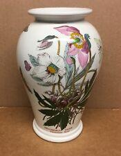 "Portmeirion Botanic Garden 8"" Canton Vase ""Helleborus Niger"""
