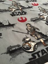 "New!! Star Wars Fleece Blanket/Throw. 63 x 61"". Great Gift!"