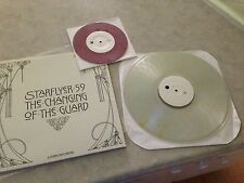 "Starflyer 59 Changing Of The Guards CLEAR VINYL LP Record & Bonus PURPLE 7""! NEW"