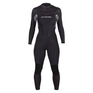 Henderson 5mm Women's Thermoprene Pro Back Zip Wetsuit, Black / Black, Size: 20