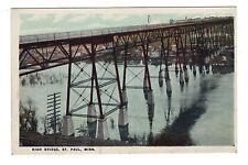 Vintage Postcard - High Bridge - St. Paul, MN Minnesota - Demolished 1985