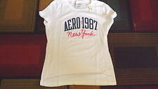 Aeropostale Women's Juniors XL white t-shirt New with Tags
