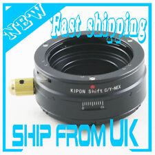 Kipon Contax Yashica C/Y lens to Sony E mount NEX shift adapter NEX-3 5 5N C3 7