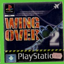 WING OVER 2 psone u- ps1 playstation play1 ITALIA pal play1