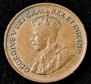 1932 Canada 1 Cent Nice Coin