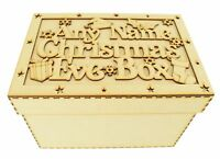 CP50 Personalised Wooden MDF Christmas Eve Box, Night Before Christmas Gift