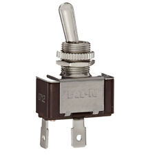 Eaton XTD1A1A2 Toggle Switch 20A 125VAC 10A 277VAC 1 Pole Nickel On/Off Maintain