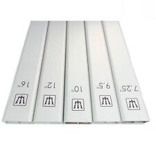 G&W Set of 5 Aluminum Radius Sanding Blocks For Fretboards - 450mm SETALU450