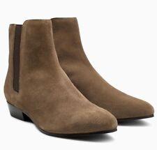 NEXT Women's Suede Khaki Pixie Boots - size UK 6 / EU 39