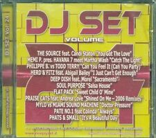 Dj Set Volume 24 – The Source/Todd Terry/Deep Dish/Mylo/Phats & Small Cd
