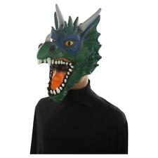 Hyde and Eek! Boutique Adult Deluxe Dragon Mask Costume Green
