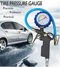 220Psi tire Inflator Air Tyre pressure gauge Gun Vehicle Air Compressor Tool