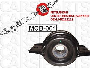 Mitshubishi roulement d'arbre de transmission oem MR223119