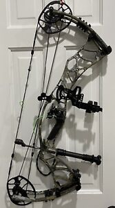 Pre-owned Hoyt Helix 60LB Compound Bow w/accessories, Gore Optifade Elevated 2