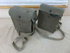 SET 2x US ARMY Feldtelefon Signal Corps Field Telephone EE-8-B portable radio