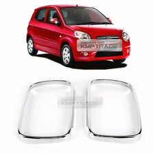 Chrome Mirror Molding Garnish Cover Trim K372 2P for KIA 2004-2007 Picanto