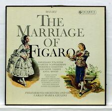 SAX 2381/4 ** GIULINI ** MOZART the marriage of figaro ** COLUMBIA 4xLPs box EX+