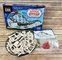 CDX Blocks Little Dipper Roller Coaster INCOMPLETE for REPLACEMENT PARTS ONLY