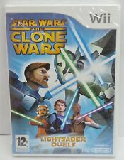 Star Wars The Clone Wars Wii Video Game Lightsaber Duels - NEW & SEALED