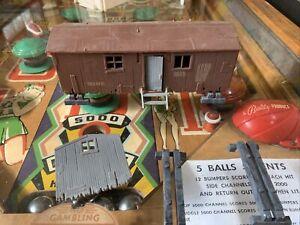 plasticville o scale buildings Railroad Shanty