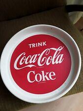 Coca Cola Tablett 50er Midcentury Alt