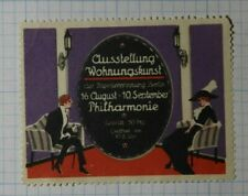 Home Decor Expo Fair Berlin Exposition Poster Stamp Ads