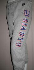 NFL New York Giants Football Vintage Sweat Pants Womens Sizes  Nwt Gray