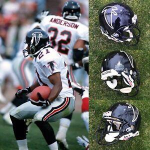 1996-97 ATLANTA FALCONS GAME USED RIDDELL FOOTBALL HELMET - MEDIUM SHELL