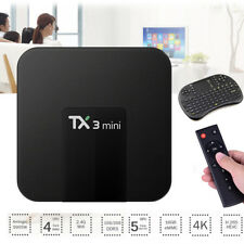 TX3 Mini TV Box WiFi Android 7.1 Support 4K HD 64Bit 2GB + 16GB Media Player GY