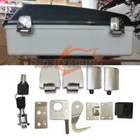 Premium Hardware Kit Latches Hinges Lock fit for Harley Davidson Tour Pack 06-13